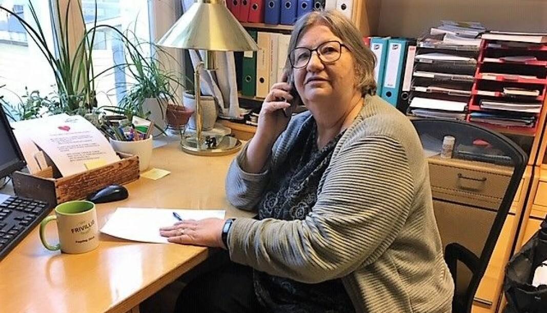 Daglig leder Ingri Aukrust Berg er den eneste ansatte på Tiedemannsstuen. Hun koordinerer mange av de frivillige i bydelen.