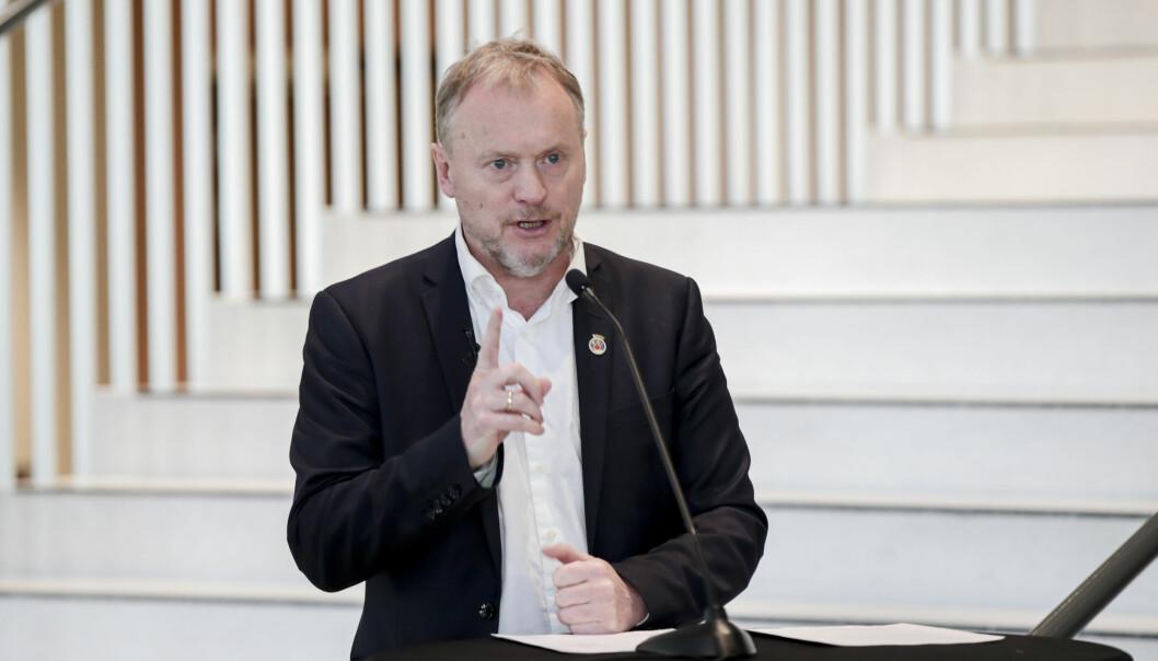 Byrådsleder Raymond Johansen (Ap) vurderer å sette inn Sivilforsvaret i påske-Oslo.