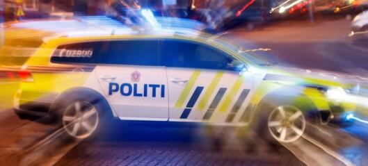 To menn pågrepet etter politijakt på stjålet bil ved Majorstuen
