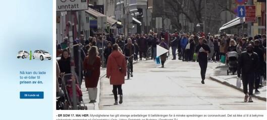 «Nærmest 17. mai-tilstander», skrev Dagbladet om folkelivet i Markveien på Grünerløkka i går. Men var det sant?