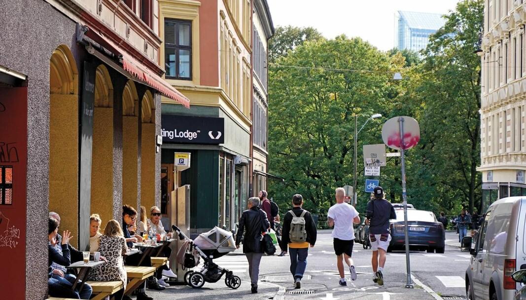 Markveien på Grünerløkka.