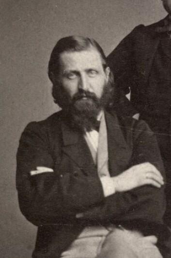 Otto Winter Hjelm i cirka 1860-1870. Foto: Oslo Museum
