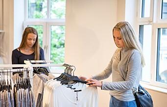 - Butikkene bugner av varer de frykter ikke blir solgt, sier Oslo Handelstands Forening