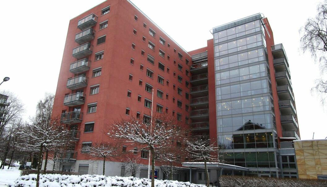 Det er for tiden 54 medarbeidere på 25 institusjoner som er smittet med covid-19. Her Akerselva sykehjem.