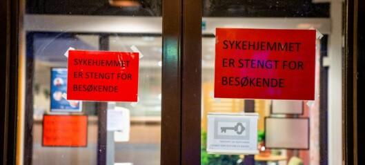 Ni sykehjemsmedarbeidere koronasmittet i Oslo