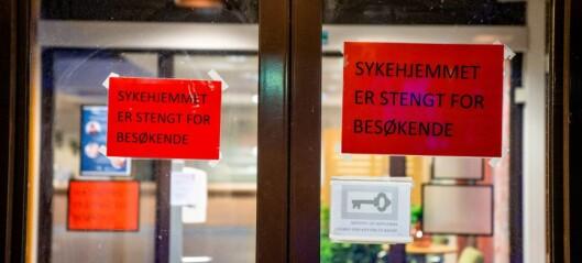 Koronatilfeller på mer enn halvparten av alle sykehjem i Oslo