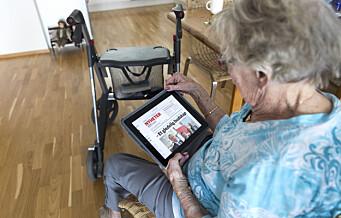 23 nettbrett samlet inn til koronaisolerte eldre på sykehjem i Oslo