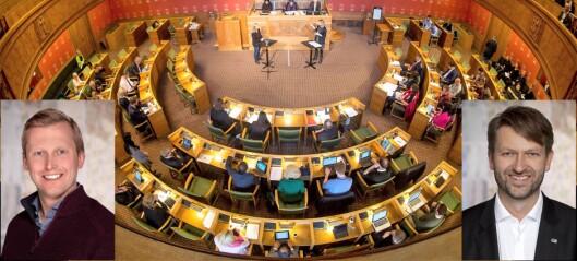 – Politisk polemikk, dragkamp og Oslo Høyre i krisetid