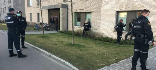 Personer væpnet med balltrær og macheter sprang ut av to biler og gikk til angrep på Hasle