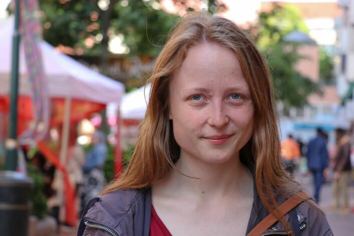 Nestleder av bydelsutvalget i Gamle Oslo, Agnes Viljugrein, sier hun vil forsøke å redde juniorklubben på Grønland, men nå haster det. Foto: Privat