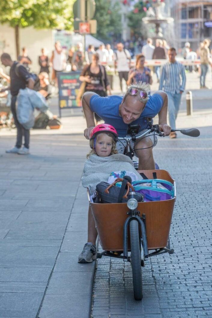 Det jobbes med å gjøre Oslo mer sykkelvennlig. Bompenger er med på å finansiere det. Foto: Clare Keogh/Europakommisjonen