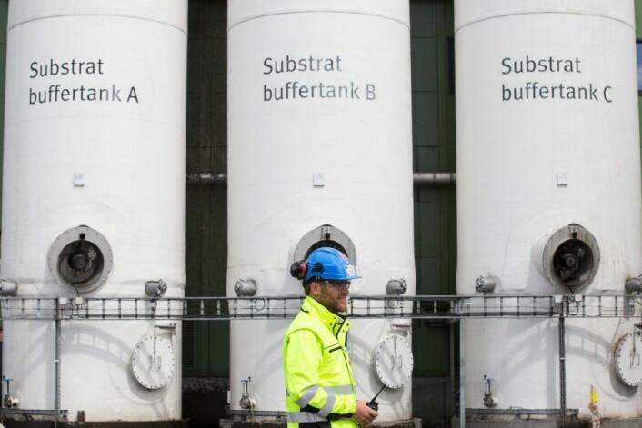 Avfall gjøres om til biogass på Romerrike biogassanlegg. Foto: Clare Keogh/Europakommisjonen