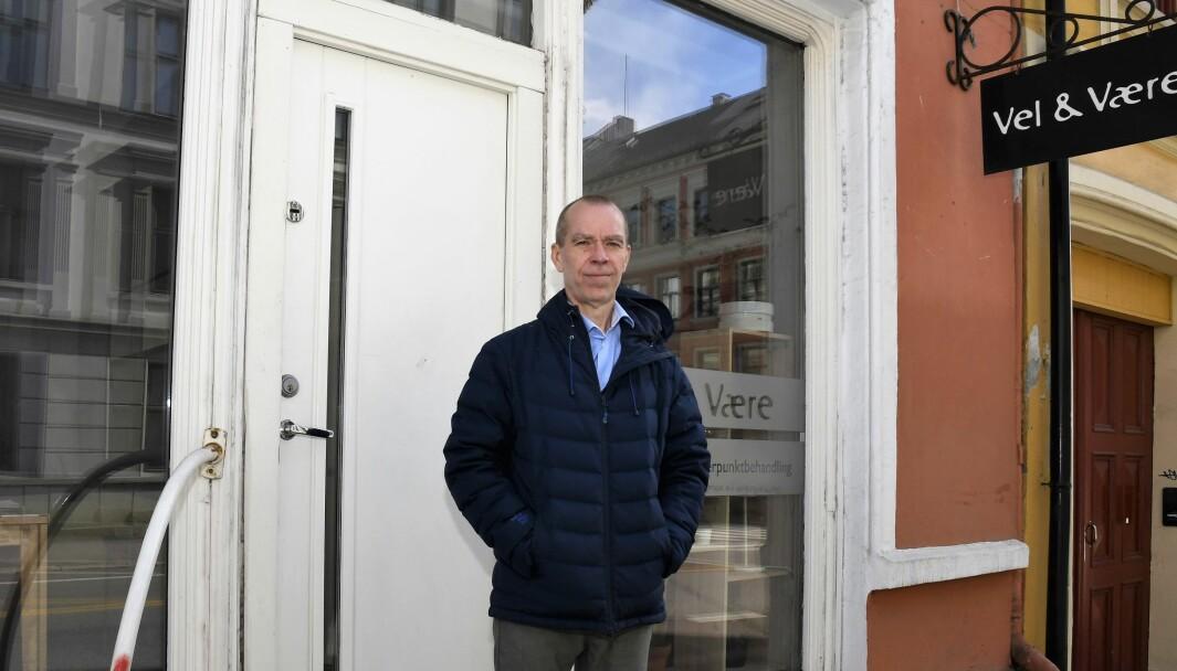 Leder i Norsk Massasjeforening, Kjetil Prestesæter, ber gårdeiere om å være med på koronadugnad gjennom utsettelse av husleie.