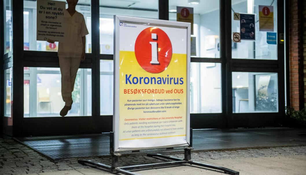 Sykehjemmene hadde lenge besøksforbud. Nå er reglene lettet.