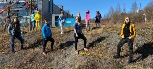 Barna i Nydalen ønsket å plante blomster på en forsøplet tomt, men fikk et avslørende nei fra eieren