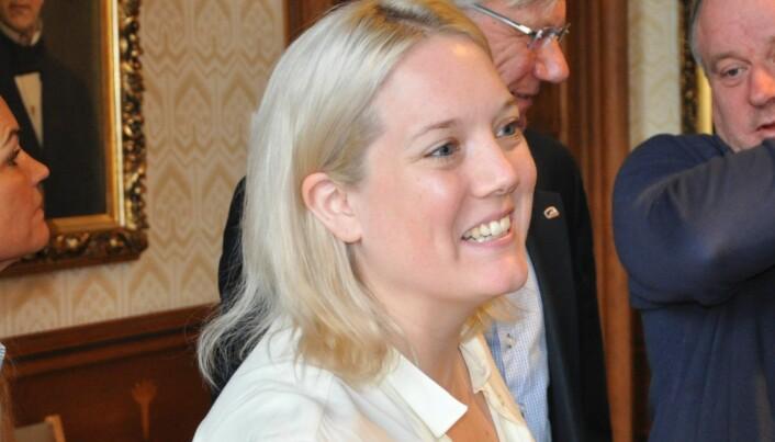 Leder i bystyrets helse- og sosialutvalg Aina Stenersen sier hun ikke er kjent med at møtet i utvalget hun leder var et lukket møte.
