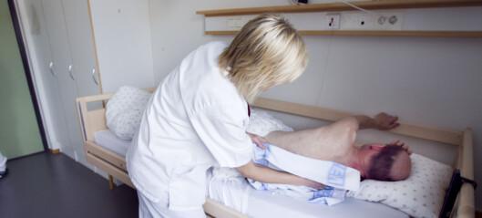 Eldre koronapasienter fra Oslos sykehjem får ikke respirator: - De får godt stell, omsorg og eventuelt oksygen