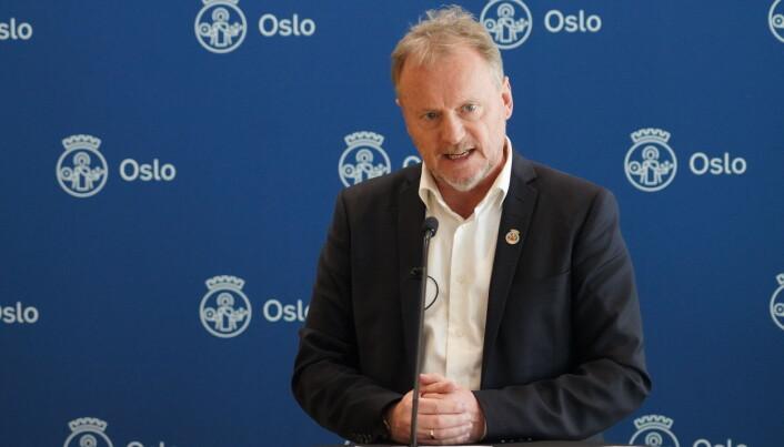— Oslos kafeer, barer, puber, restauranter er en veldig viktig del av byen vår, sa Raymond Johansen på pressekonferanse fredag.