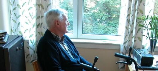 - Eldre bør unngå å havne på sykehjem i Oslo mens covid-19 viruset herjer