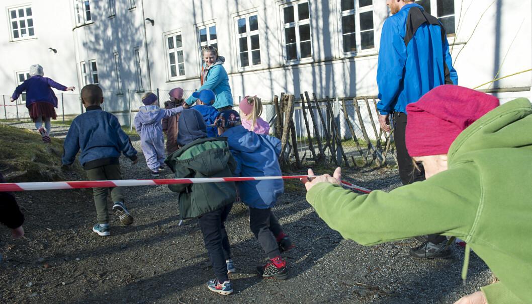 – Det beste for barna, økonomien og felleskapet er å sette en stopper for profitt i barnehagene, mener Inga Marte Thorkildsen.