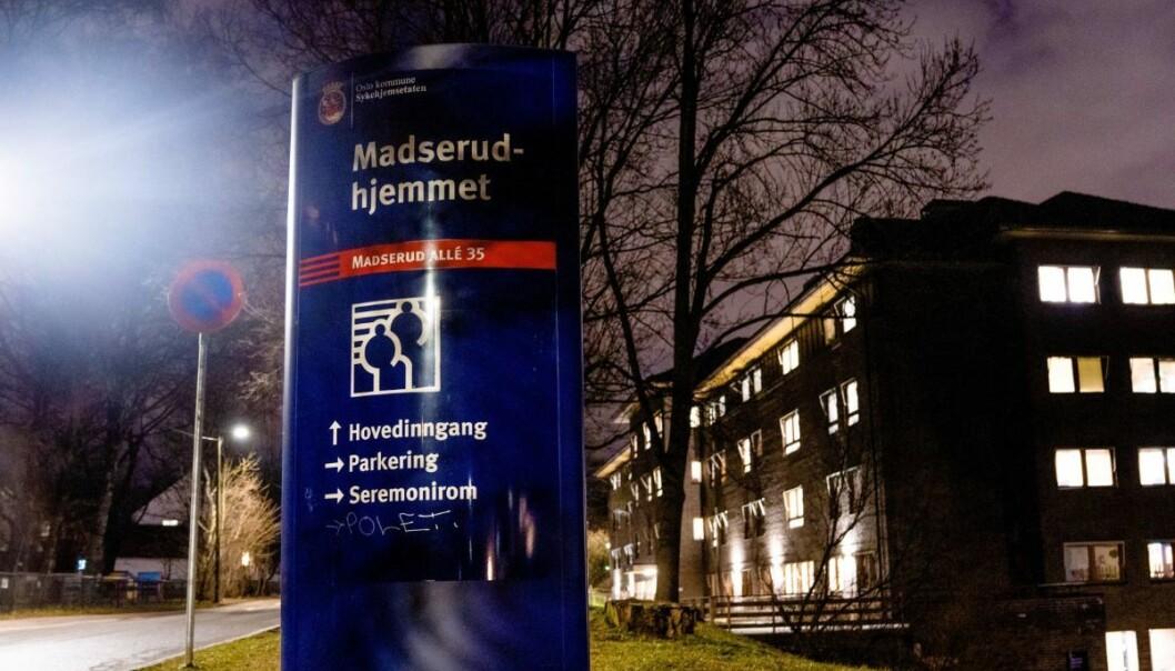To beboere er døde etter koronasmitte ved Madserudhjemmet.