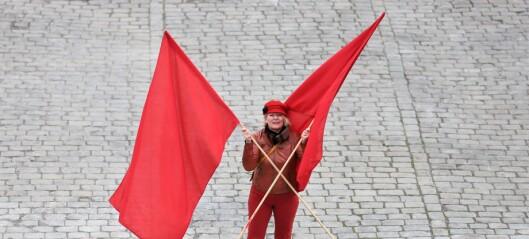 Youngstorget blir tomt 1. mai. Men LO i Oslo vil farge dagen rød på nettet