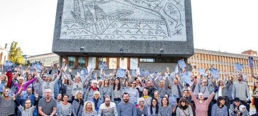Y-blokka: Åtte partier og en uavhengig representant mot riving i Oslo bystyre. To partier for