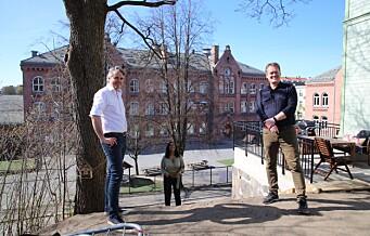 Bolteløkka skole endelig i mål med utvidelse av skolegården