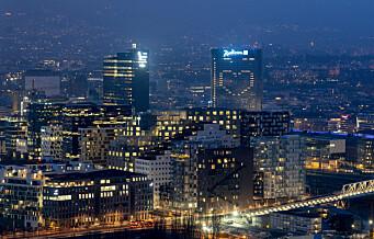 Klimasmell for Oslo – utslippene økte