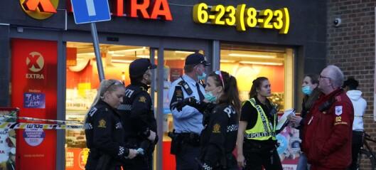 En person kritisk skadd etter knivstikking i Borggata – fem pågrepet