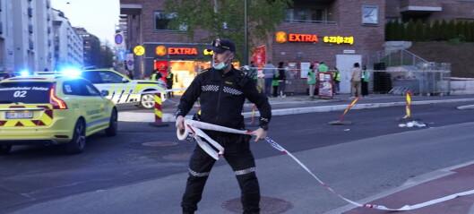 Stabil tilstand for mann som ble knivstukket på Tøyen