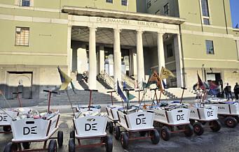 Fra neste uke kan oslofolk låne papirbøker igjen