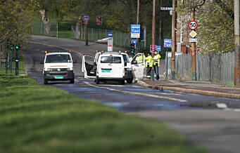 Stor vannlekkasje utenfor Ullevål sykehus – vestgående løp av ring 2 er stengt