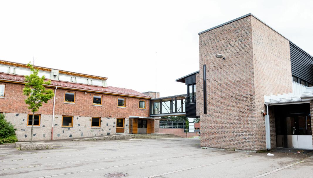 Nordtvet skole er den eneste av skolene i Oslo som får utsatt skolestarten. Foto: Audun Braastad / NTB scanpix