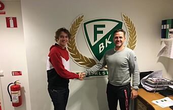 Vålerengagutten Tobias Bjercke Larsen (15) klar for Färjestad