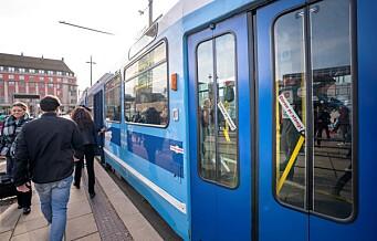 Billettkontrollene i gang igjen på buss, trikk og bane