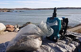 Plastutslipp i Oslofjorden blir politianmeldt
