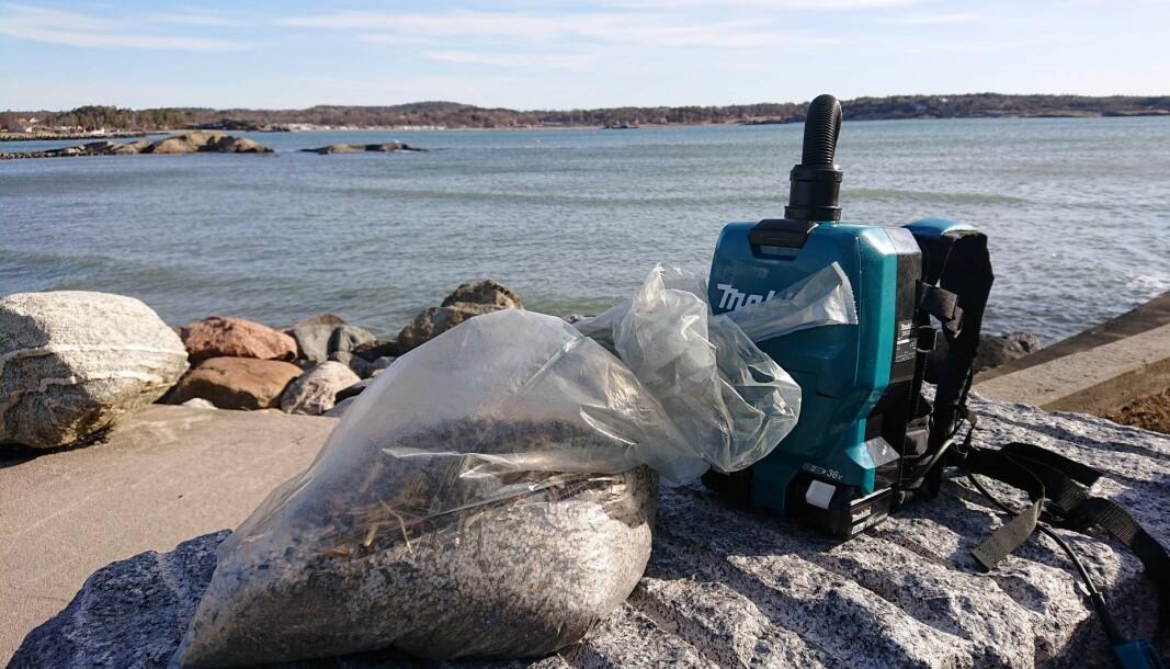 I mars ble det oppdaget store mengder av plastpellet flere steder langs Oslofjorden. Nå politianmelder Oslofjordens Friluftsråd og Naturvernforbundet utslippet.