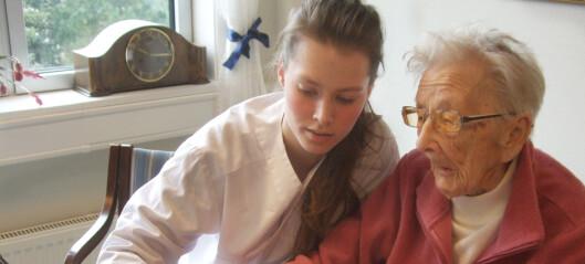 Helsefagarbeidere 70.000 opp i lønn. – En investering i sykehjemsansatte er en investering i god eldreomsorg