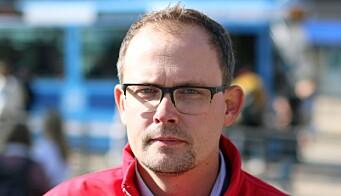 Kommunikasjonsrådgiver i Ruter, Knut Martin Løken, er godt fornøyd med oppstarten av billettkontrollene igjen onsdag.