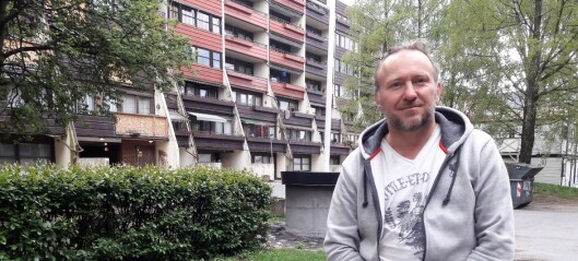 I halvannet år har beboerne i Sofienberggata har hatt en tom brakkerigg fra kommunale Boligbygg i bakgården