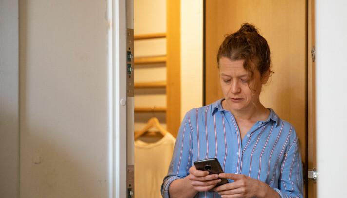Marit Disteler liker idéen og er godt førnøyd etter å ha testet ut tjenesten.