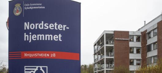 135 beboere og ansatte koronafriske ved Oslos sykehjem