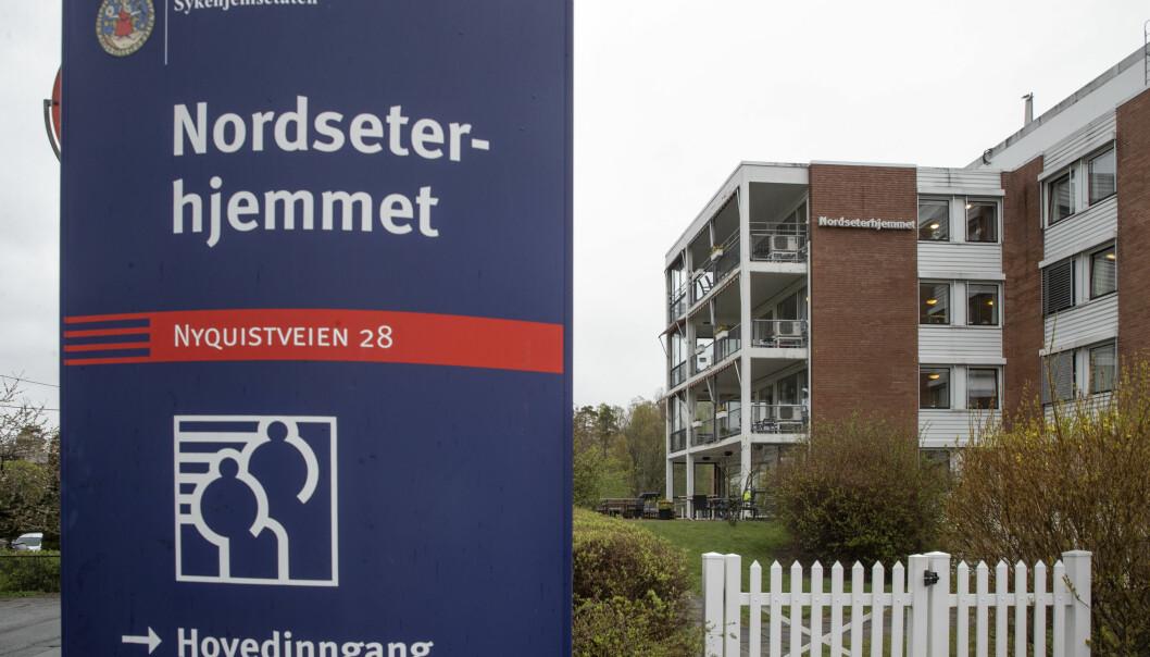 Ni av de tilsammen 31 døde koronapasientene ved Oslos sykehjem har dødd ved Nordseterhjemmet.