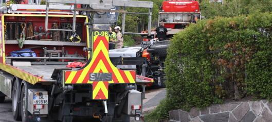 Mann omkom i arbeidsulykke på Lilleaker i bydel Ullern