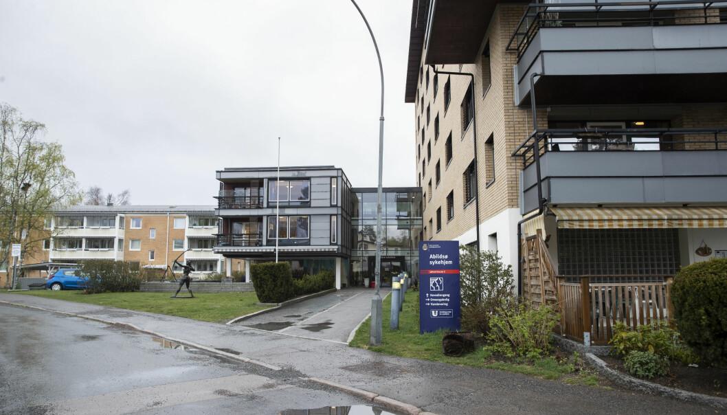 Det har vært besøksforbud på norske sykehjem siden 12. mars.