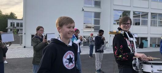 Hasle skolekorps skriver et i brev til kulturbyråden i Oslo om at de er svært usikre på fremtiden