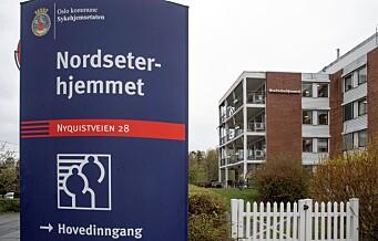 Nytt koronadødsfall ved Nordseterhjemmet. 32 beboere ved sykehjem i Oslo har dødd etter koronasmitte