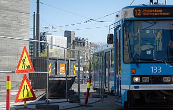 På et av Oslos travleste gatehjørner er det skapt en mulig trafikkfelle