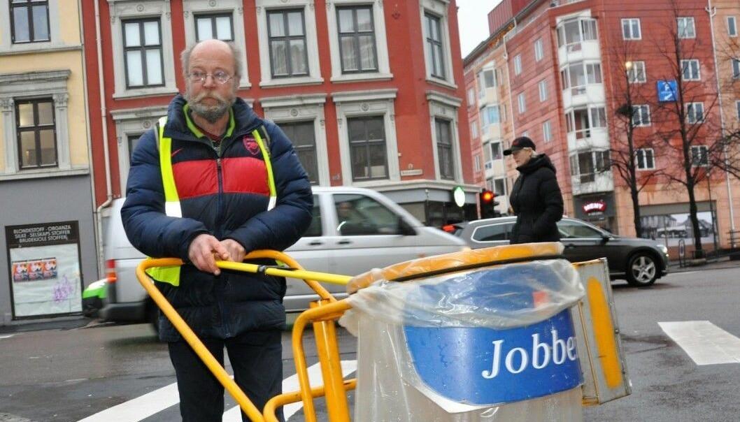 Jon Arvid og de andre brukerne av Frelsesarmeens Jobben er blitt kuttet av det rødgrønne byrådet og bystyreflertallet fire år på rad.